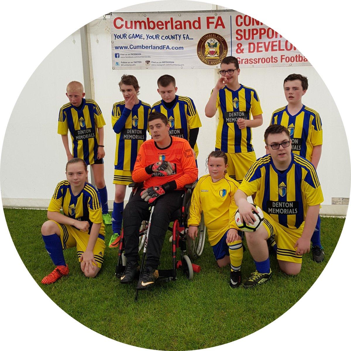 Carlisle Reivers Pan Disability Football's profile pic